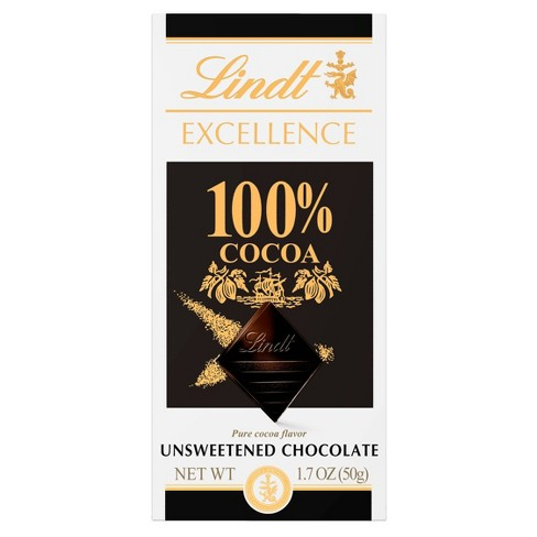 Lindt Excellence 100% Dark Chocolate - 1.8oz - image 1 of 3