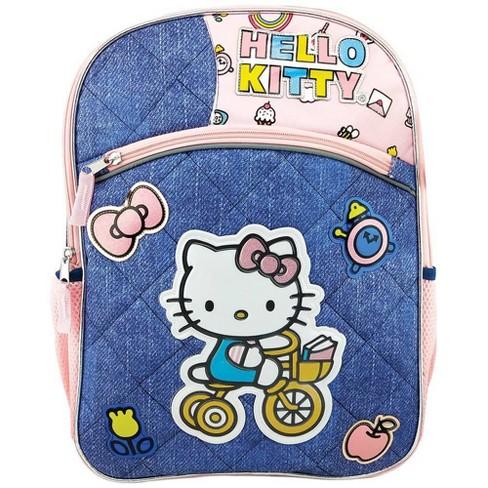 "Hello Kitty 16"" Kids' Deluxe Backpack - Denim Blue - image 1 of 4"