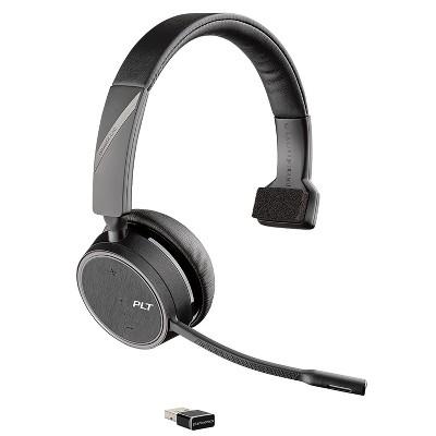 Plantronics Voyager 4210 UC Series USB-A Bluetooth Wireless Headset, Black (211317-101)