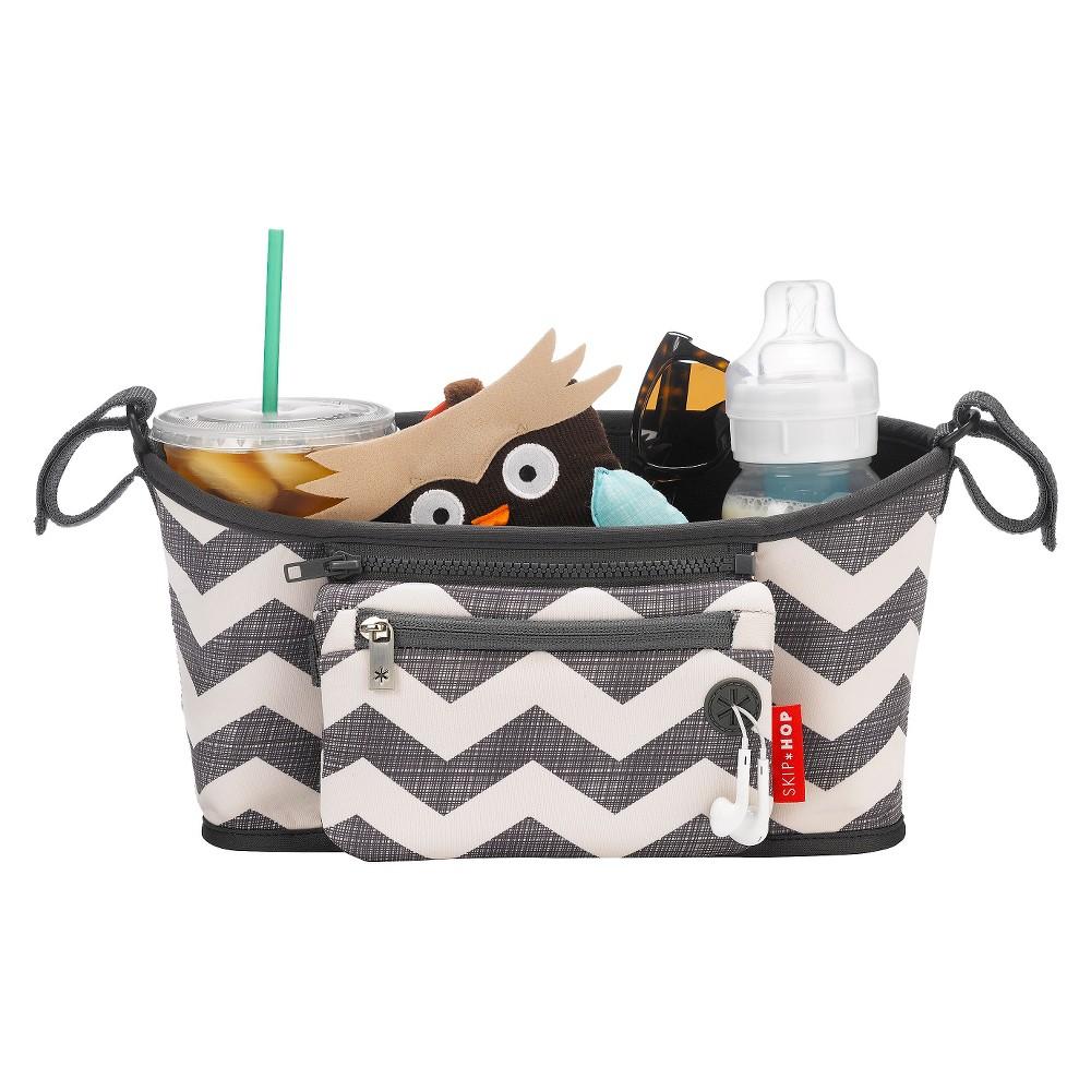 Skip Hop Grab and Go Stroller Organizer - Chevron, Off Wh...