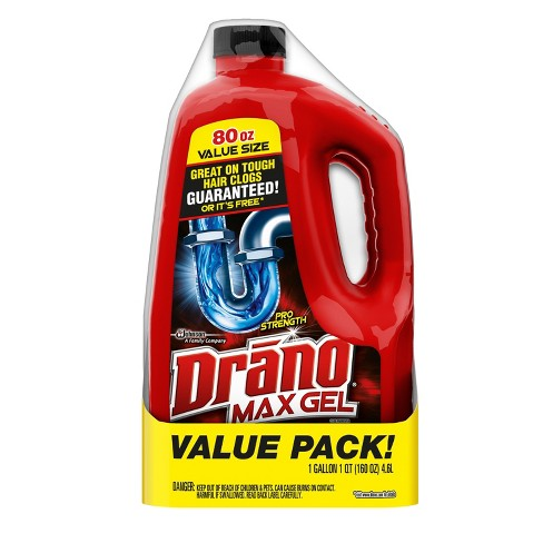 Drano Max Clog Remover Twin Pack 160oz - image 1 of 3