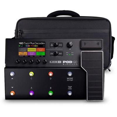 Line 6 POD Go Wireless Guitar Multi-Effects Processor With Shoulder Bag