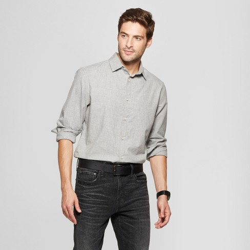 Men's Long Sleeve Dressy Casual Button-Down Shirt - Goodfellow & Co™ - image 1 of 3
