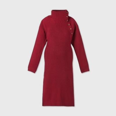 Long Sleeve Sweater Maternity Dress - Isabel Maternity by Ingrid & Isabel™