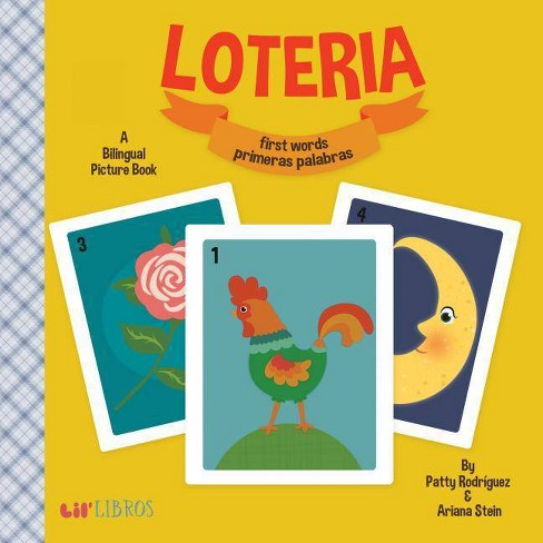 Loteria/Lottery: First Words/Primeras Palabras Bilingual (Board Book) by Patty Rodriguez - image 1 of 1