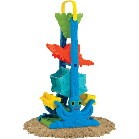 Melissa & Doug Seaside Sidekicks Sand-and-Water Sifting Funnel image number null