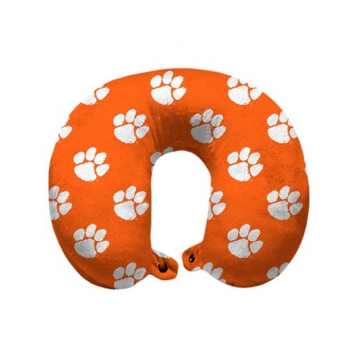 NCAA Clemson Tigers Travel Pillow