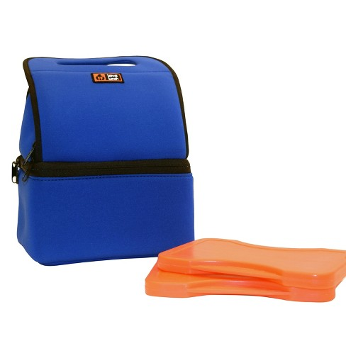 Lava Lunch Heated Lunch Tote - Blue - image 1 of 2