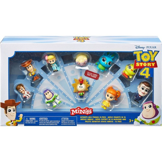 Disney Pixar Toy Story Minis Ultimate New Friends 10pk image number null