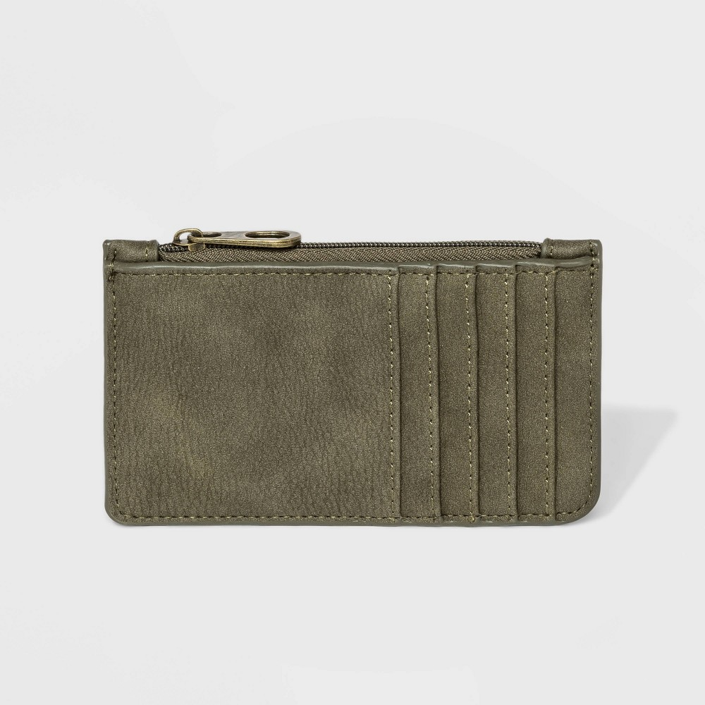 Low Price Vertical Card Case Universal Thread Green