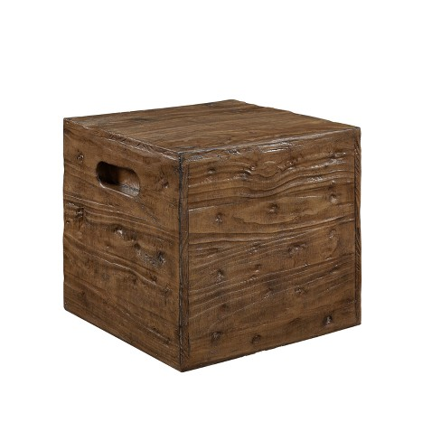 Warner Crate Accent Table - Powell Company - image 1 of 4