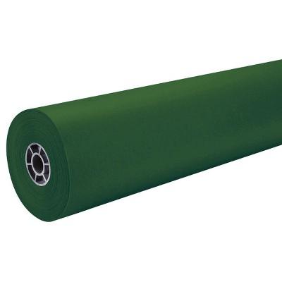 "36"" x 500' ArtKraft Duo-Finish Paper Roll - Emerald Green"