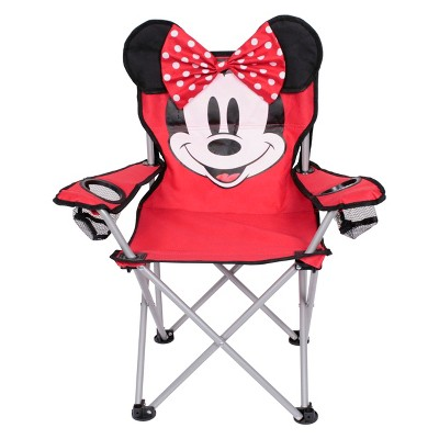 Evergreen Kids Minnie Mouse Camp Chair - Red