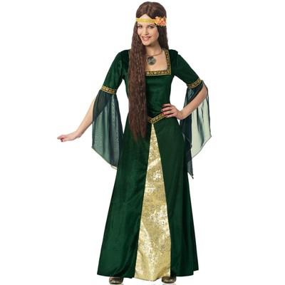 Franco Emerald Renaissance Lady Adult Costume