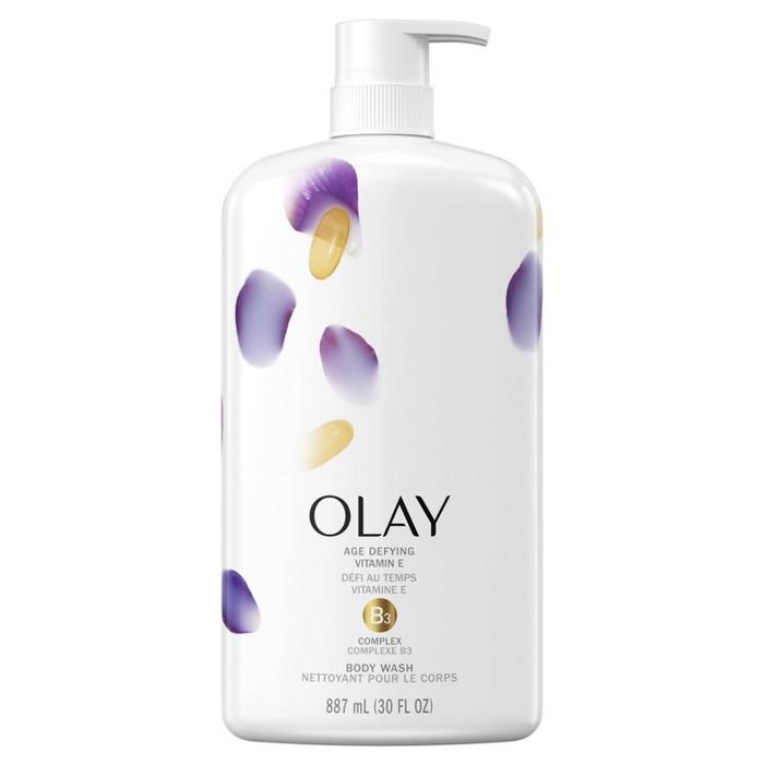 Olay Age Defying Body Wash With Vitamin E - 30 Fl Oz : Target
