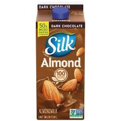Silk Pure Almond Dark Chocolate Almond Milk - 0.5gal