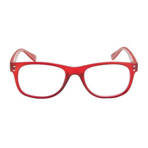 3888e555a65 Cotati Reading Glasses - Retro Red +2.00   Target