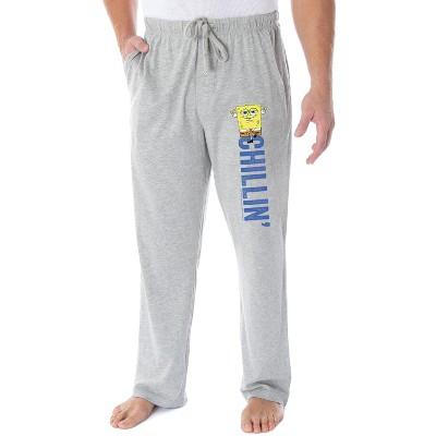 Nickelodeon Men's SpongeBob SquarePants Chillin' Loungewear Pajama Pants