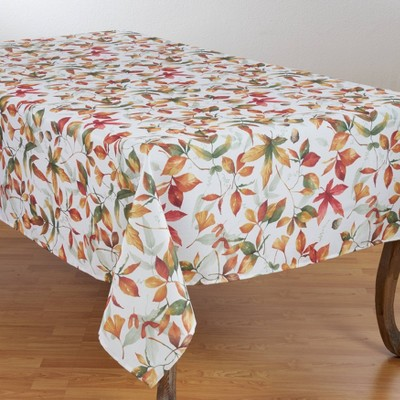Fall Leaf Tablecloth - Saro Lifestyle