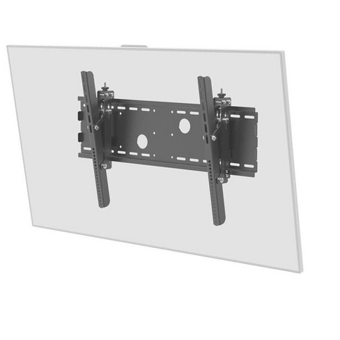 "Monoprice Titan Series Tilt Wall Mount For Extra Large 32"" - 70"" Inch TVs Displays, Max 165 LBS. 100x100 to 750x450, Black, UL Certified - image 1 of 4"