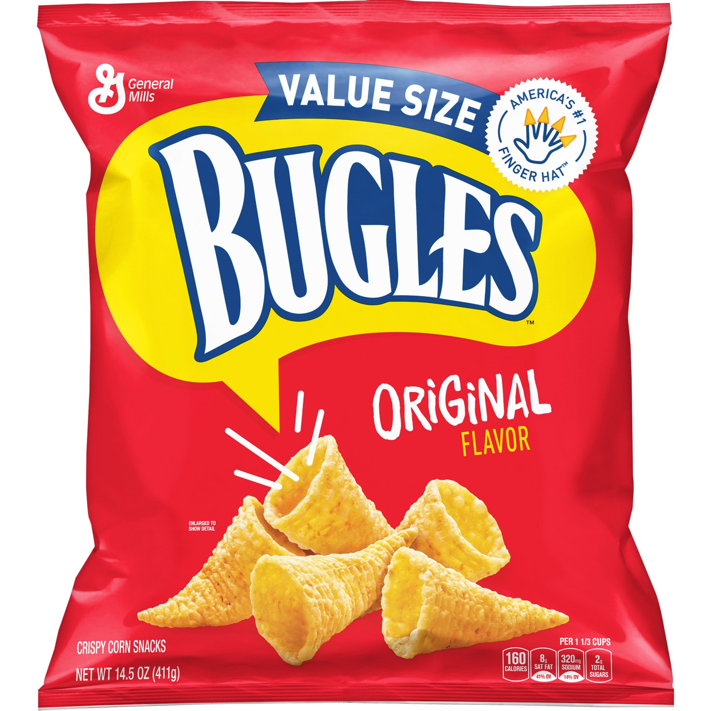 Bugles Original Crispy Corn Snacks - 14.5 oz.