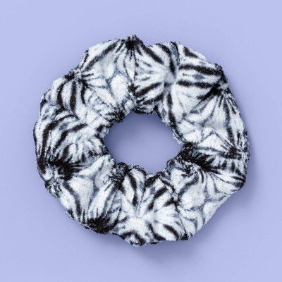 Kids' Tie-Dye Twister Hair Elastic - More Than Magic™ Black/White