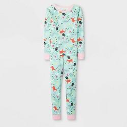Girls' Pajama Set - Cat & Jack™ Green