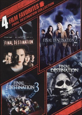 Final Destination Collection: 4 Film Favorites (DVD)