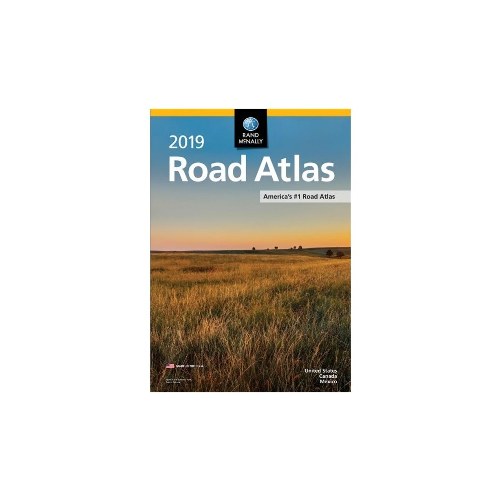 Rand Mcnally 2019 Road Atlas United States, Canada, Mexico - (Paperback)