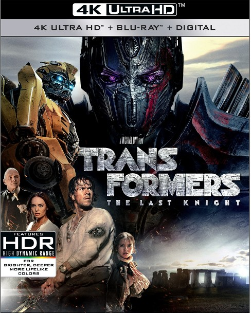 Transformers: The Last Knight (4K UHD/BD Combo/UV) Movies - image 1 of 1