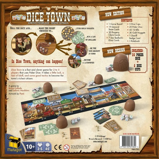 Dice Town Revised Edition Board Game image number null