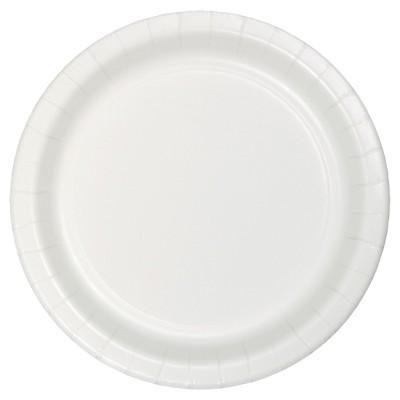 "White 7"" Dessert Plates - 24ct"