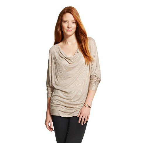 Women's Shimmer Long Sleeve Knit Top - Knox Rose™ - image 1 of 2