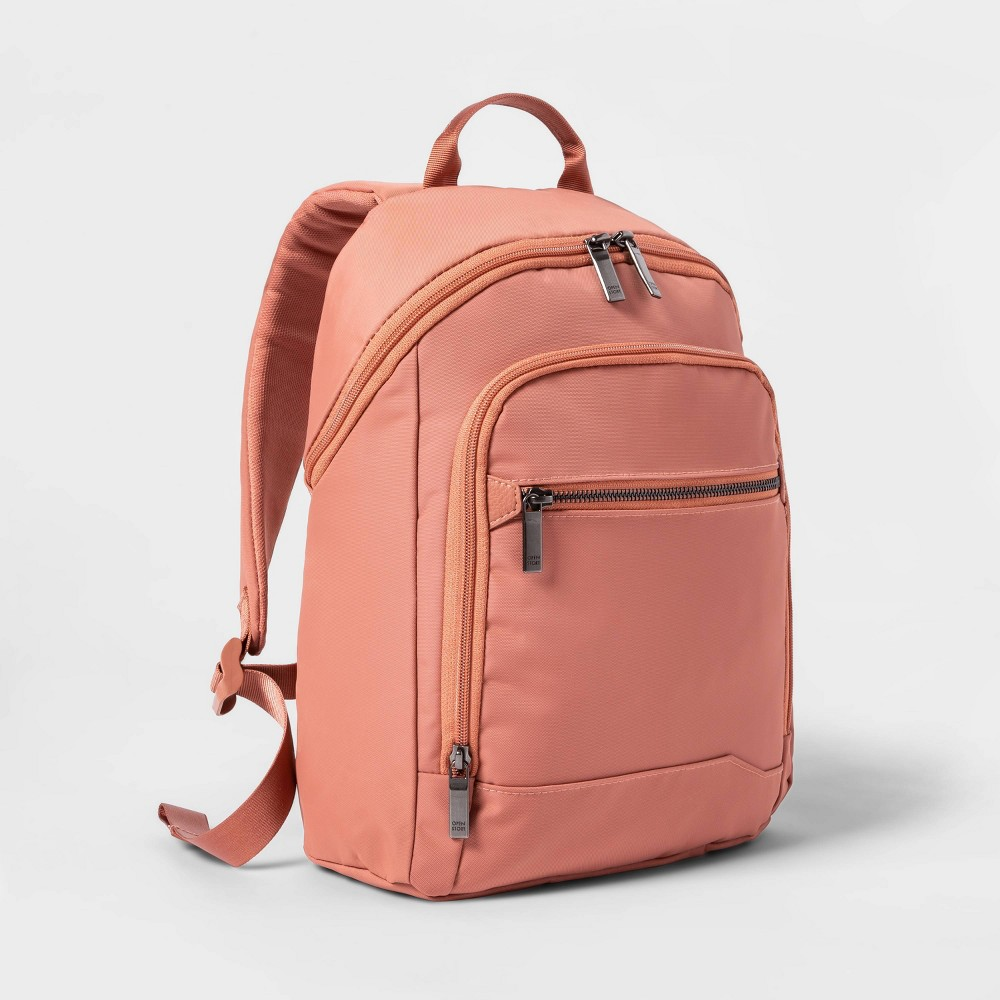 Image of City Mini Backpack Rust - Open Story , Red