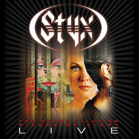 Styx - Grand illusion plus pieces of 8 live (CD) - image 1 of 1