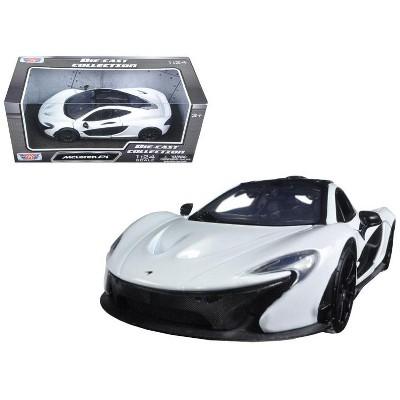McLaren P1 White 1/24 Diecast Model Car by Motormax