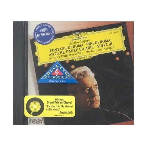 Albinoni - Ottorino Respighi: Fontane di Roma; Pini di Roma; Antiche Danze ed Arie - Suite III (CD) - image 1 of 1