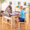 Kids' Deluxe Arts and Activity Center - Guidecraft - image 4 of 4