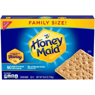 Honey Maid Honey Graham Crackers Family Size - 25.6oz