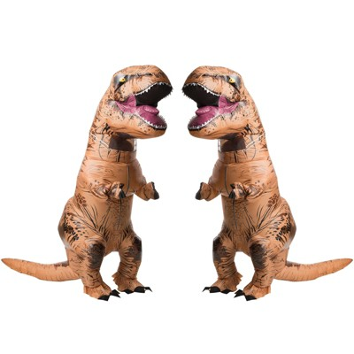 Rubies The Original Adult Inflatable T-Rex Costume 2 Pack