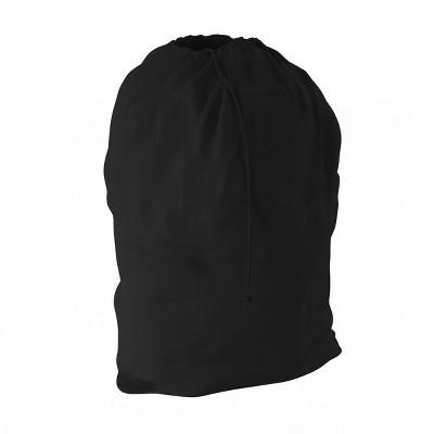 "Hastings Home Heavy Duty Laundry Bag Hamper Liner- 28"" x 38"", Black"