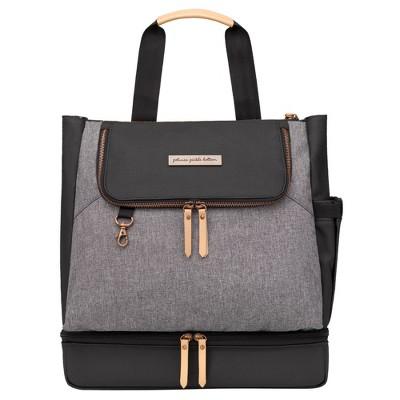 Petunia Pickle Bottom Pivot Backpack Diaper Bag - Graphite Black