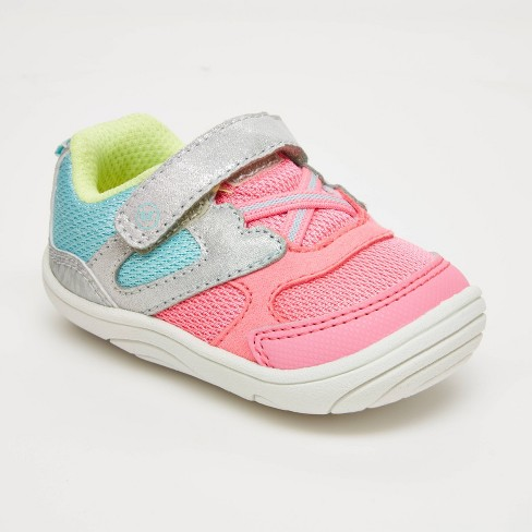 Baby Girls' Surprize by Stride Rite Chase Sneakers - Pink - image 1 of 4