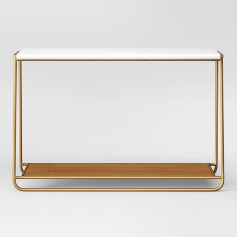 Sayer Console Table White - Project 62™ - image 1 of 3
