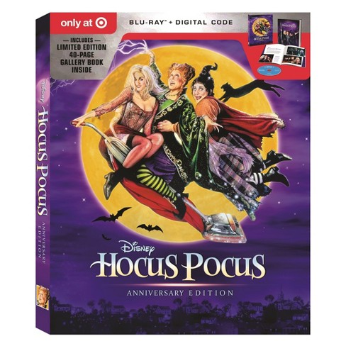 Hocus Pocus: 25th Anniversary Edition (Target Exclusive) (Blu-Ray + Digital) - image 1 of 2