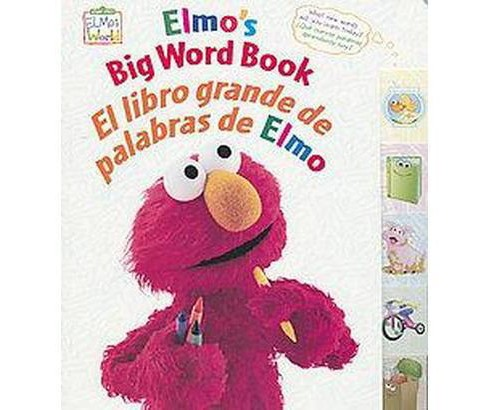 Elmo's Big Word Book (Bilingual) (Hardcover) - image 1 of 1