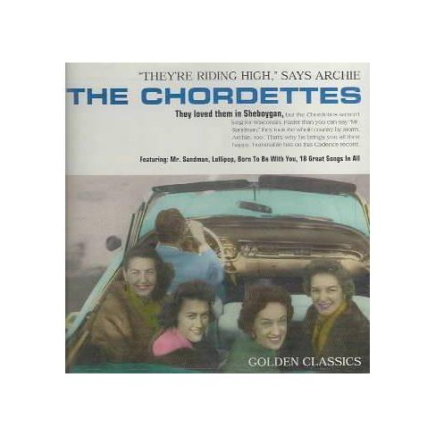 Chordettes (The) - Chordettes:Golden Classics (CD) - image 1 of 1