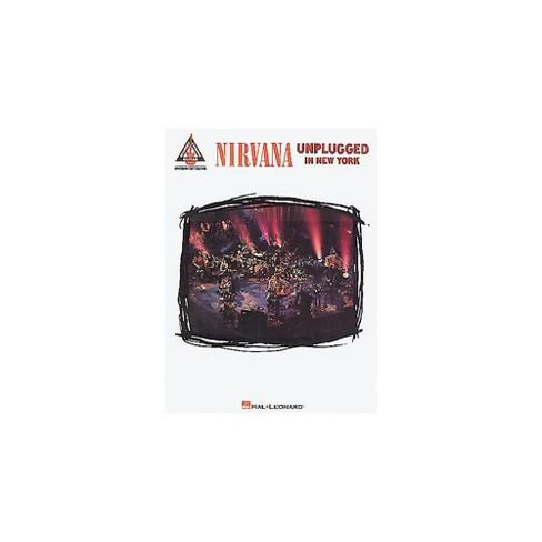 Hal Leonard Nirvana Unplugged in New York Guitar Tab Songbook - image 1 of 1