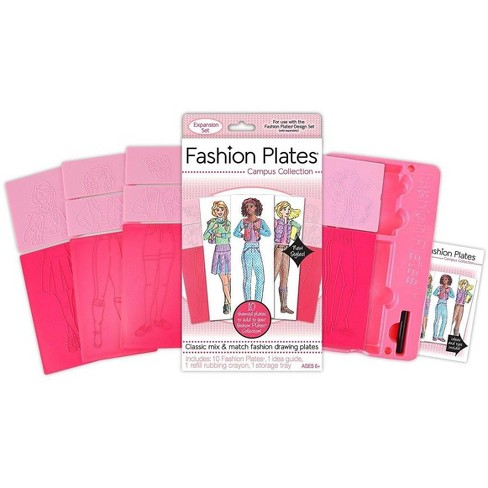 Fashion Plates Expansion Pack: Campus Collection - image 1 of 3