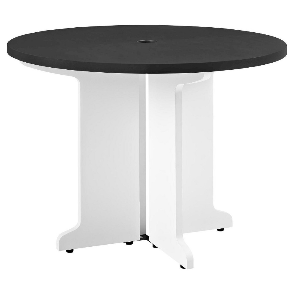 Image of Pursuit Round Table - White/Gray - Altra